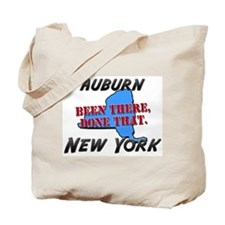 auburn new york - been there, done that Tote Bag