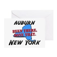 auburn new york - been there, done that Greeting C