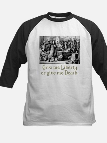 Give me Liberty... Kids Baseball Jersey