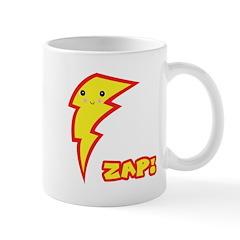 Cute Zap Comic Lightning Bolt Mug