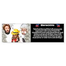 Barackhio Bumper Bumper Sticker