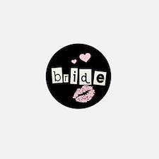 The Bride (black) Mini Button
