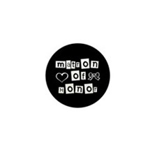 Matron of Honor Mini Button