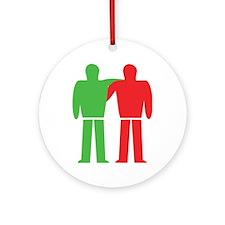 traffic lights friendship Ornament (Round)