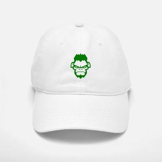 Gorilla Grappling Face Straight Baseball Baseball Cap