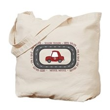 Race Car Driver Tote Bag
