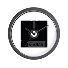 floppy disc games Wall Clock