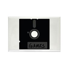 floppy disc games Rectangle Magnet