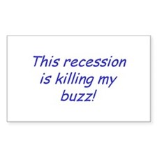 Recession Rectangle Decal