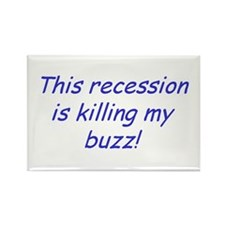 Recession Rectangle Magnet