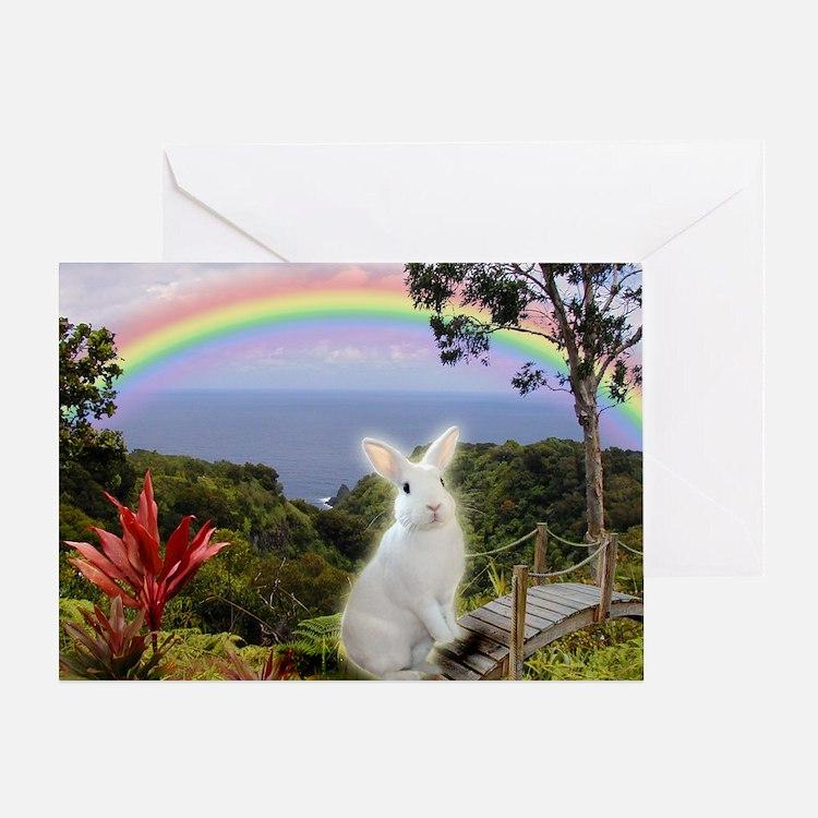 Bunny Sympathy Greeting Card