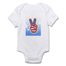 """Peace Sign"" Infant Bodysuit"