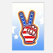 """""""Peace Sign"""" Postcards (Package of 8)"""