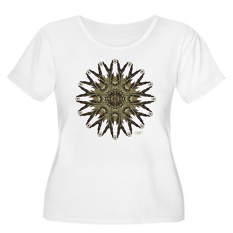 Star Child - Women's Plus Size Scoop Neck T-Shirt