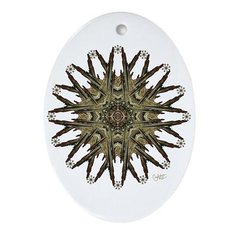 Star Child - Oval Ornament