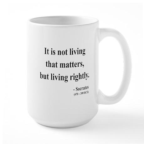 Socrates 7 Large Mug