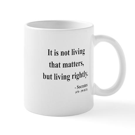 Socrates 7 Mug