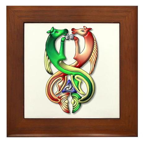 Kelpie-colors Framed Tile
