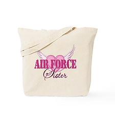 Air Force Sister Wings Tote Bag