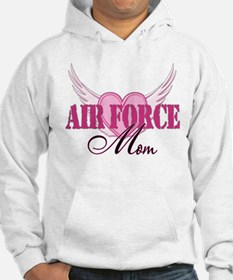 Air Force Mom Wings Hoodie