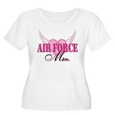 Air Force Mom Wings T-Shirt