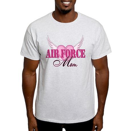 Air Force Mom Wings Light T-Shirt