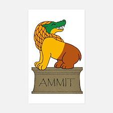 Ammit Sticker (Rectangle)