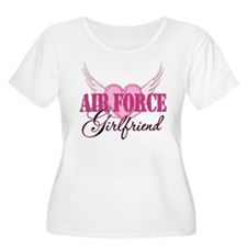 Air Force Girlfriend Wings T-Shirt