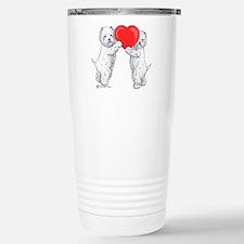 Westies with Heart Travel Mug