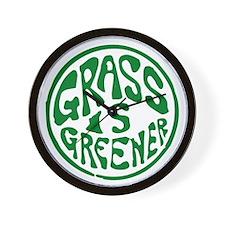 Grass... Wall Clock