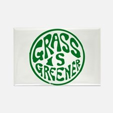 Grass... Rectangle Magnet
