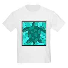 Honu Sea Turtle (Blue) Kids T-Shirt