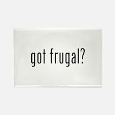 got frugal? Rectangle Magnet (100 pack)