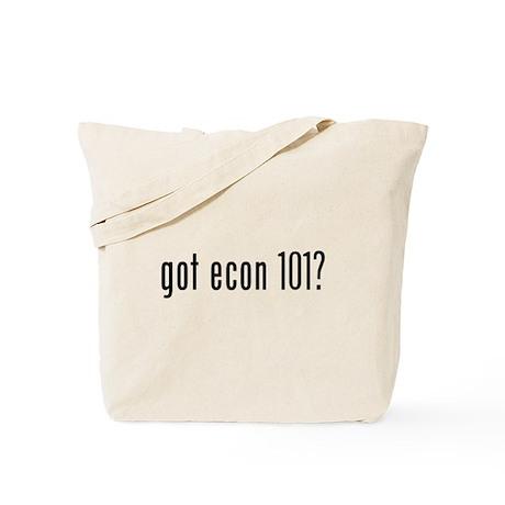 got econ 101? Tote Bag