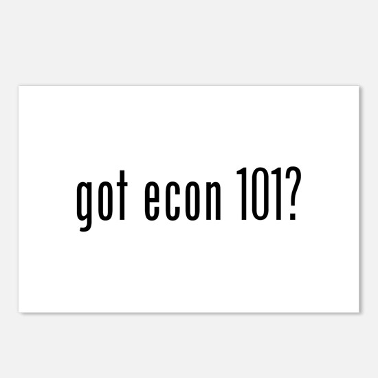 got econ 101? Postcards (Package of 8)