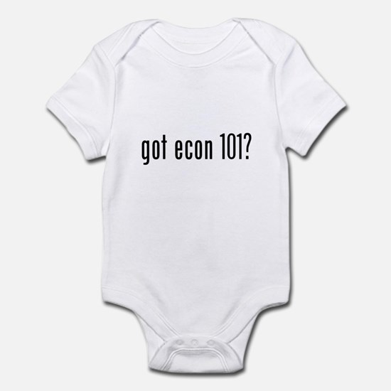 got econ 101? Infant Bodysuit