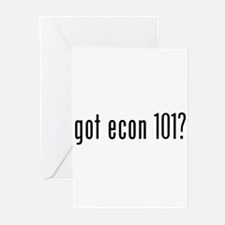 got econ 101? Greeting Cards (Pk of 20)