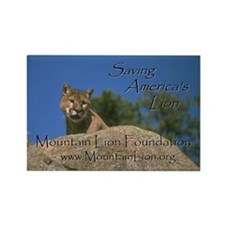 Mountain Lion Magnet