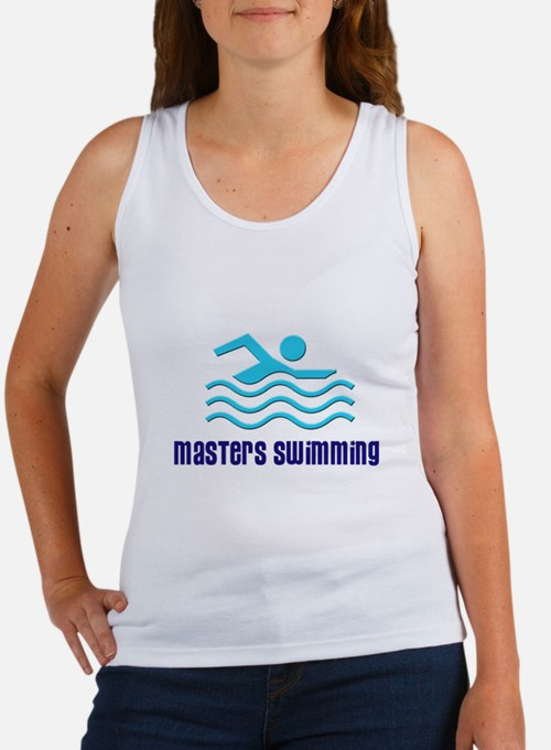 Masters Swimmers Women's Tank Top