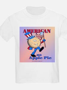 American As Apple Pie Kids T-Shirt