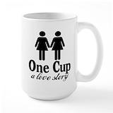 2girls1cup Coffee Mugs