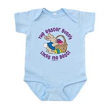 THE EASTER BUNNY LIKES ME BEST! Infant Bodysuit