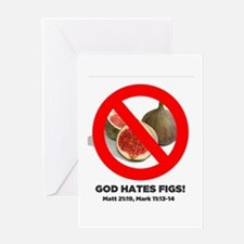 Funny Fundamentalist Greeting Card