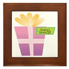 Grammy's Favorite Gift Framed Tile