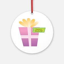 Grammy's Favorite Gift Ornament (Round)