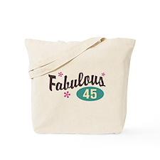 Fabulous 45 Tote Bag
