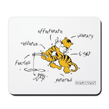 Chinese Birth Sign - Tiger - Mousepad