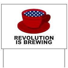 Tea Party Revolution Yard Sign
