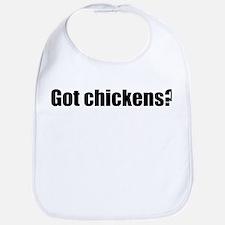 Got Chickens Bib