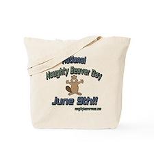National Naughty Beaver Day Tote Bag